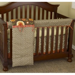 Peggy Sue Front Crib Rail Cover Up Set