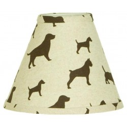 Houndstooth Lamp Shade