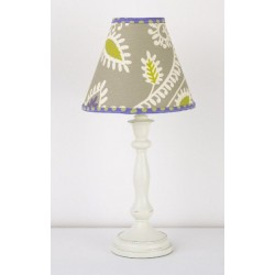 Periwinkle Std. Lamp & Shade