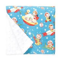 Retro Rockets Blanket