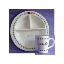 Personalized Ceramic Baby Dish and Cup  sc 1 st  FoxAndFlowerBaby.com & plates and bowls | FoxAndFlowerBaby.com