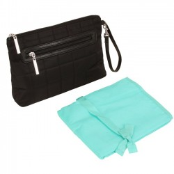 Diaper Clutch - Quilted Nylon