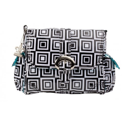 Midi Coated Buckle Bag