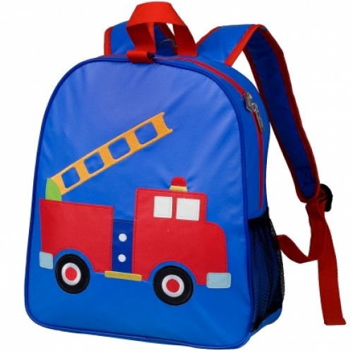 Olive Kids Firetruck Embroidered Backpacks